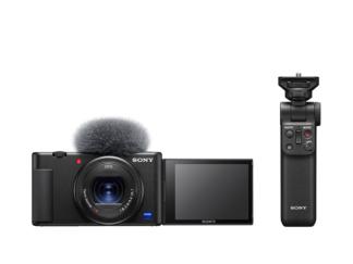 Sony ZV-1 Vlog-Kamera + GP-VPT2BT Griff