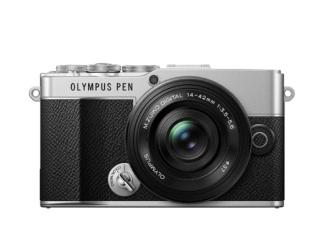 Olympus PEN E-P7 + 14-42mm EZ silber