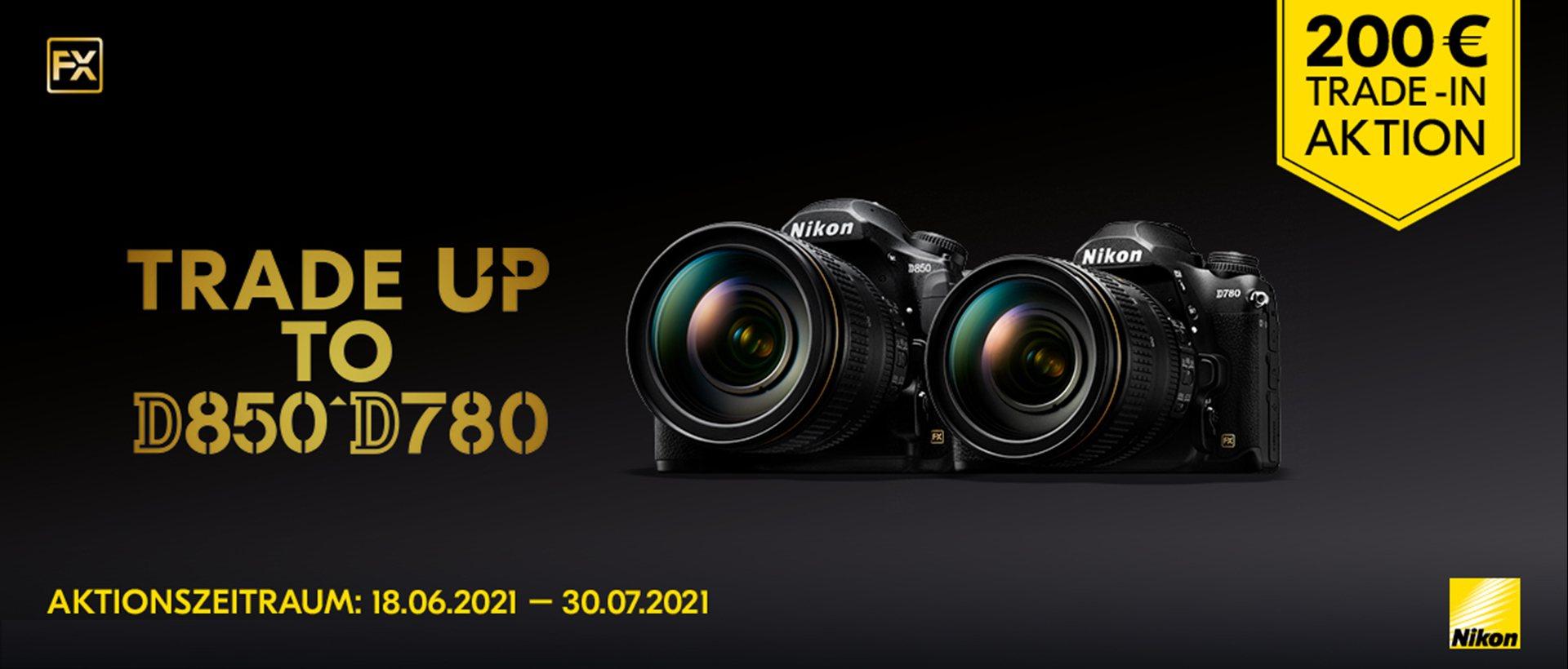 Nikon D850 / D780 Trade-In