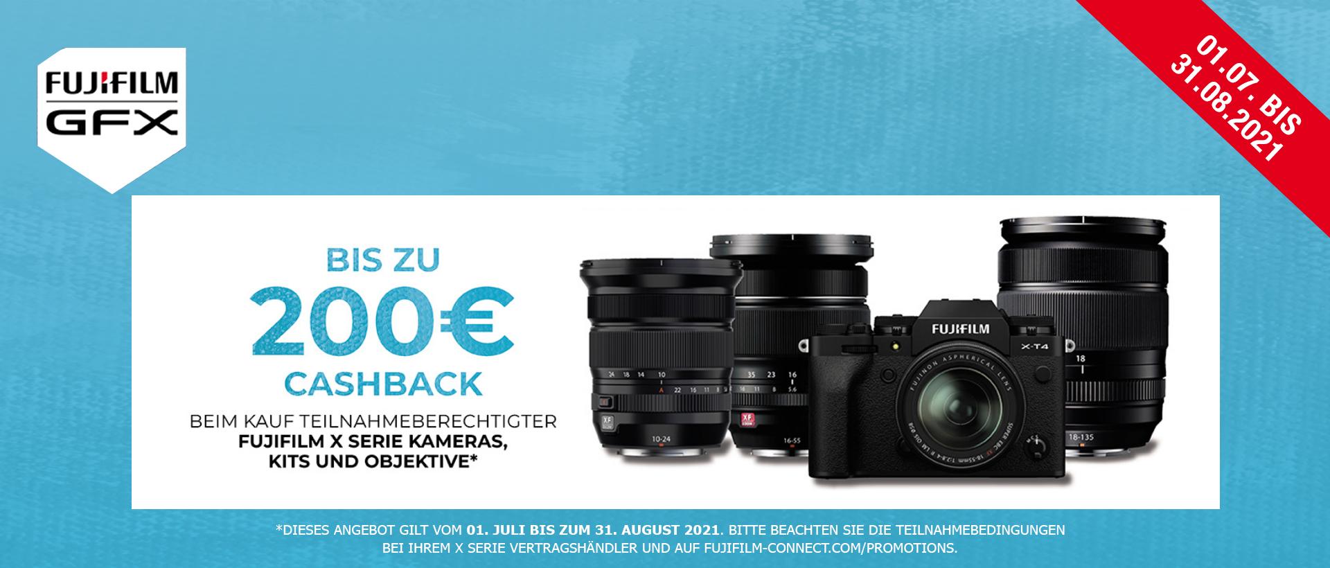 Fujifilm X-T4 / XF Cashback
