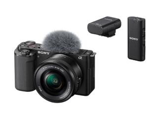 Sony ZV-E10 Kit + ECM-W2BT Mikrofon