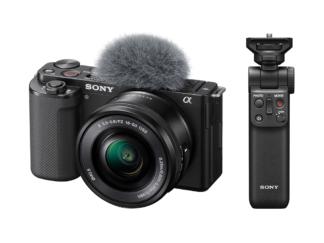 Sony ZV-E10 Kit + GP-VPT2BT Handgriff