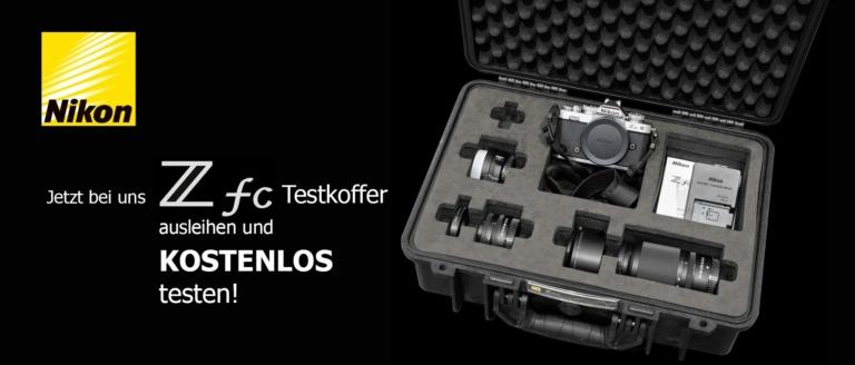 Leihaktion: Nikon Z fc Testkoffer