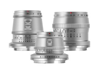 TTArtisan Z 1,4/17mm + 1,4/35mm + 1,2/50mm silber