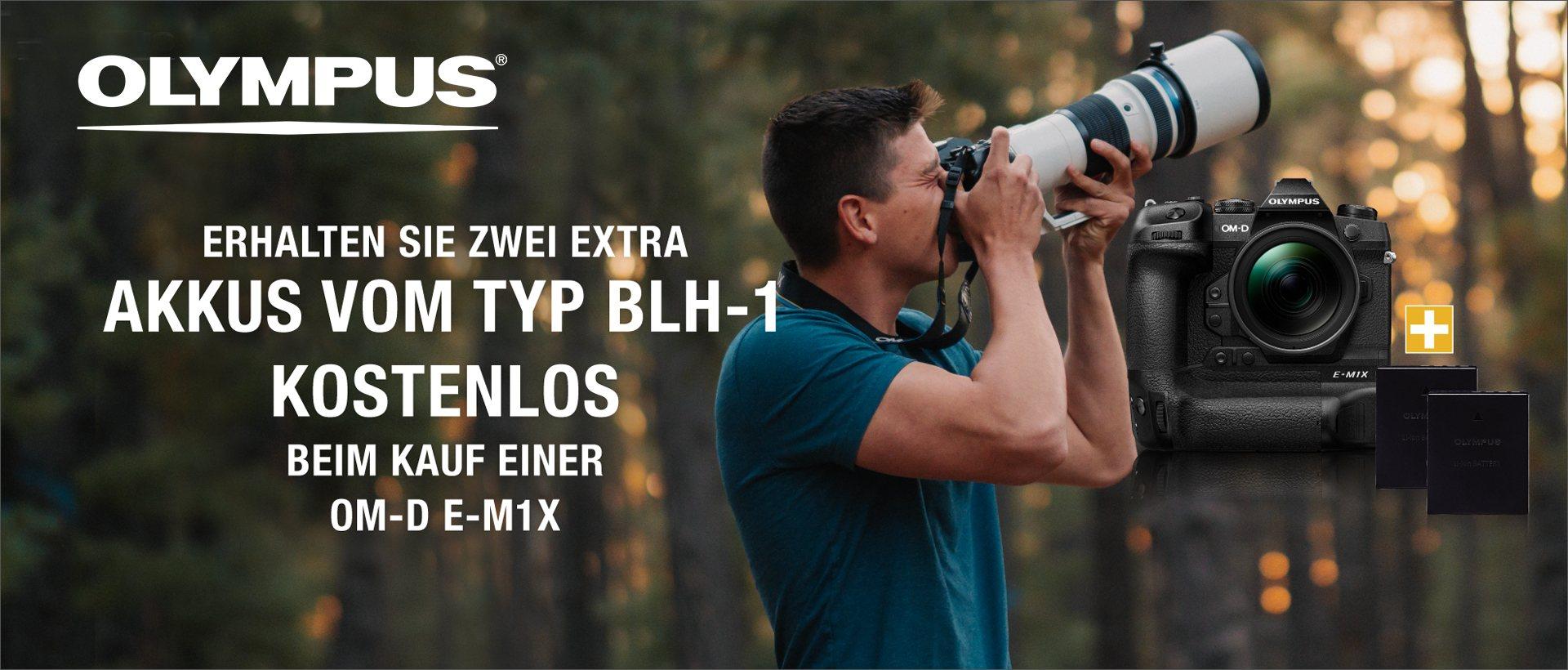 Olympus OM-D E-M1X Aktion