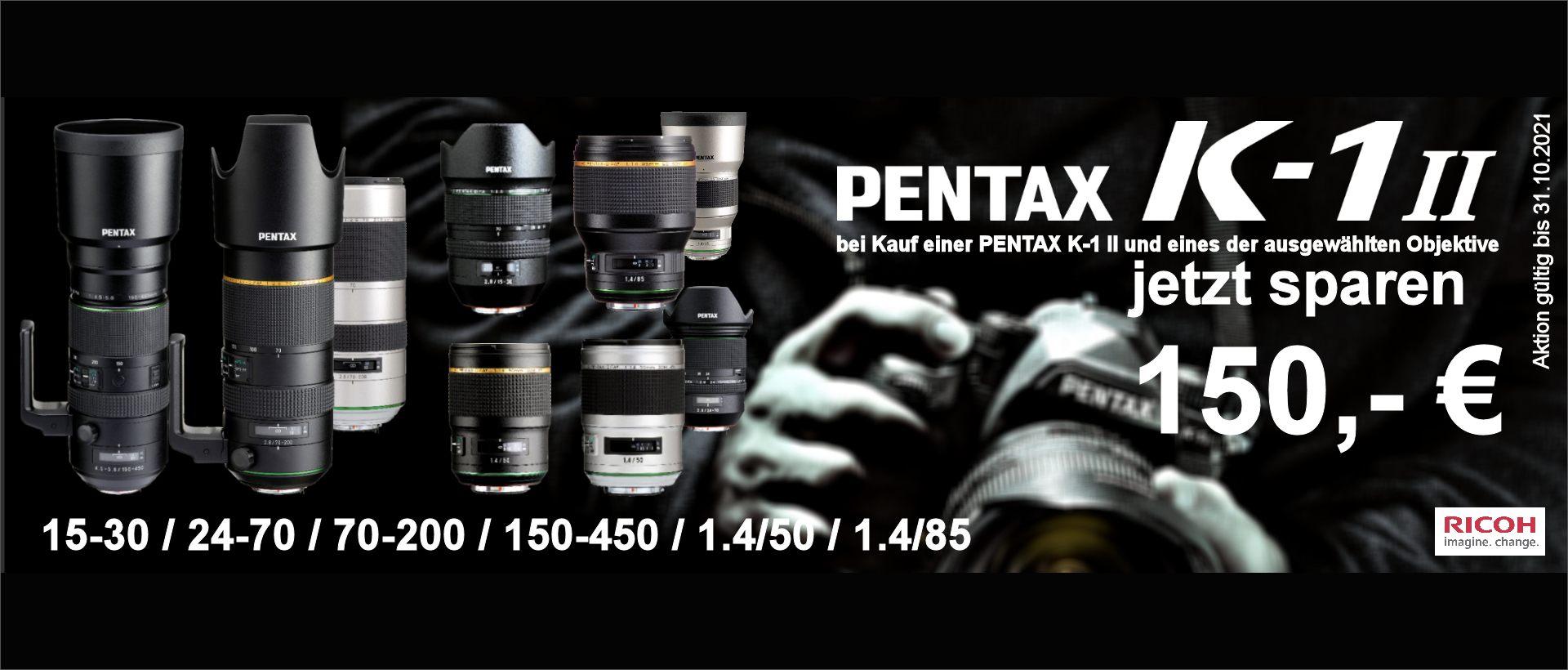 Pentax K-1 II Kombirabatt