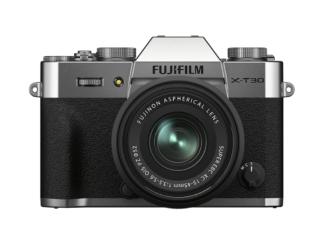 Fuji X-T30 II silber + XC 3,5-5,6/15-45mm OIS