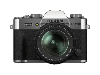 Fuji X-T30 II silber + XF 2,8-4/18-55mm OIS