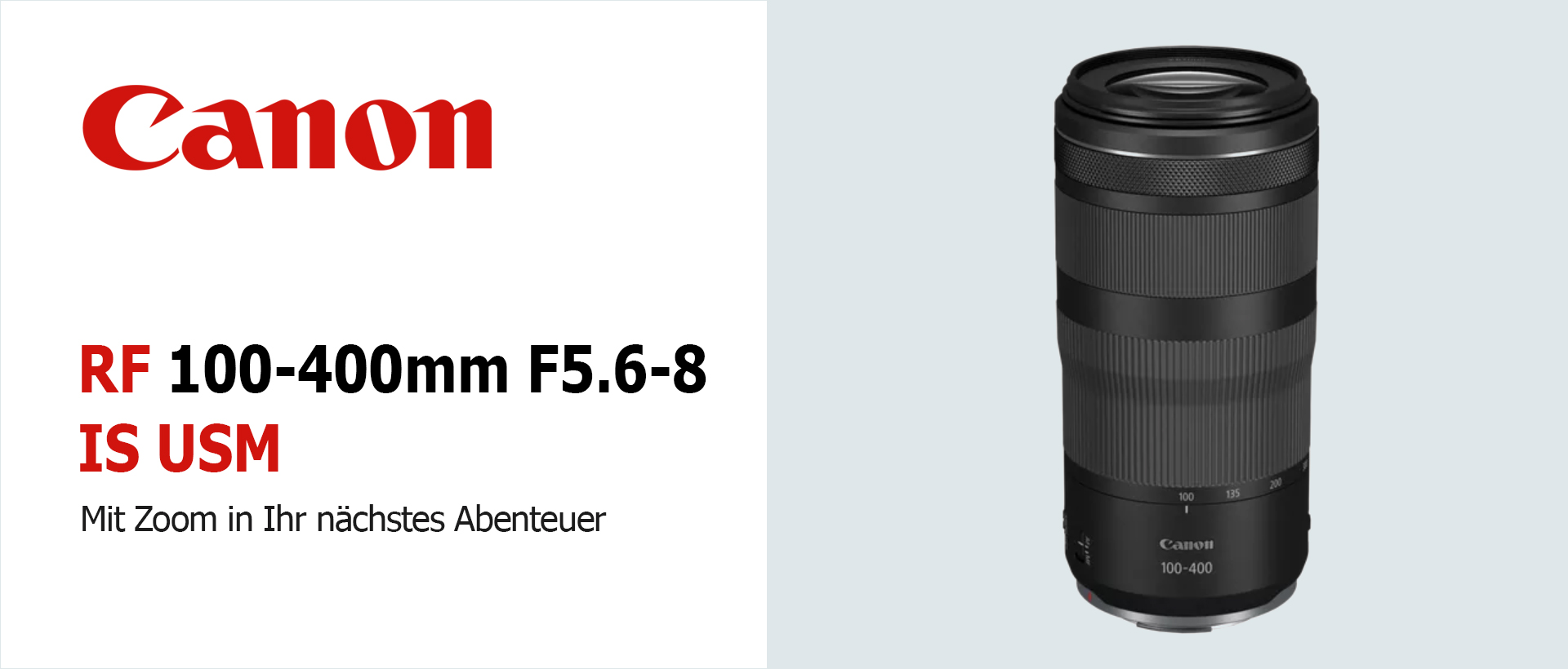 Canon RF 5,6-8/100-400mm IS USM