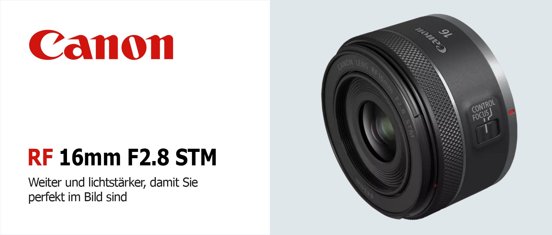 Canon RF 2,8/16mm STM