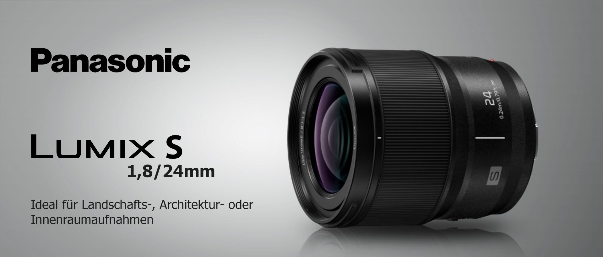 Panasonic Lumix S 1,8/24mm
