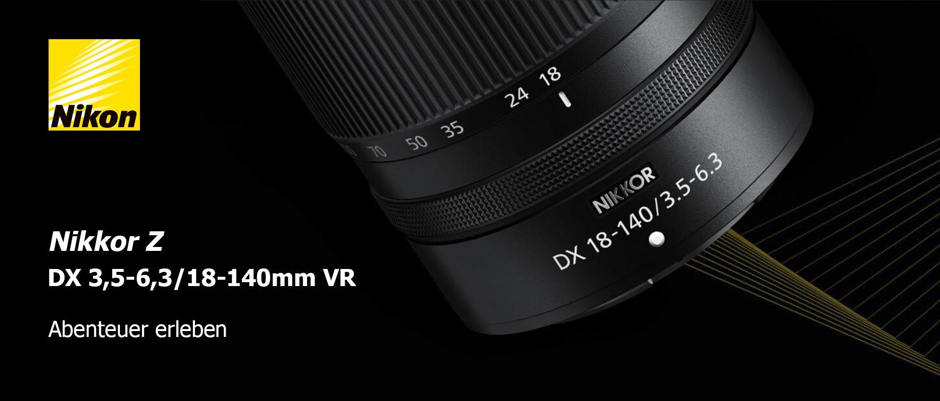 Nikon Z DX 3,5-6,3/18-140mm VR