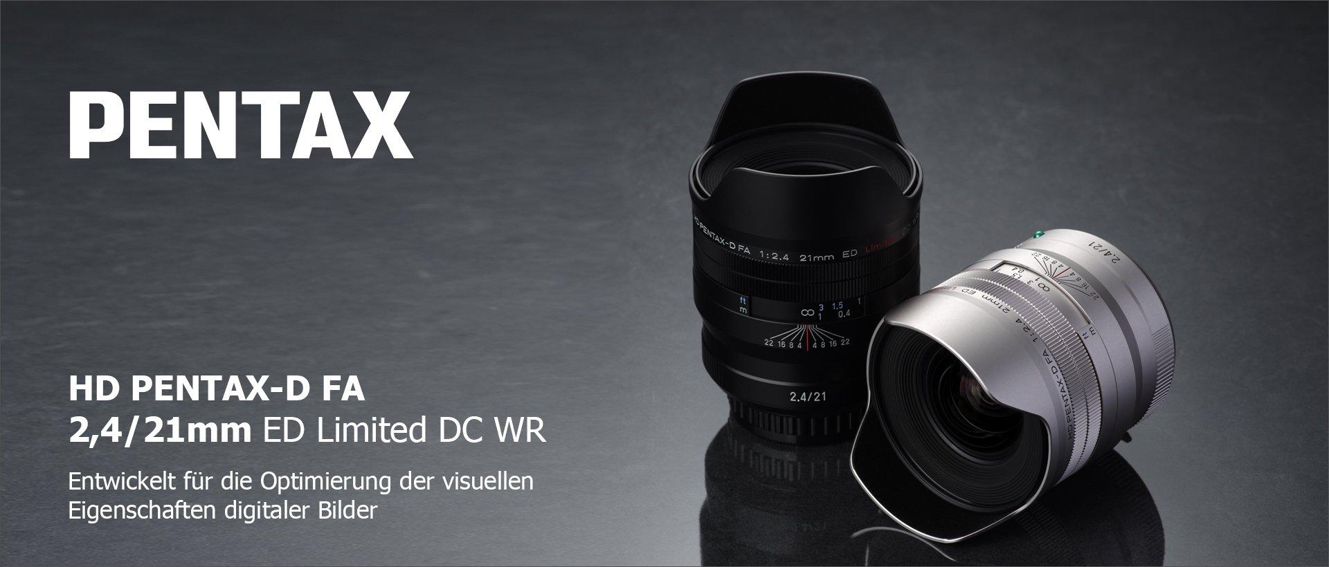 HD PENTAX-D FA 2,4/21mm ED Limited DC WR