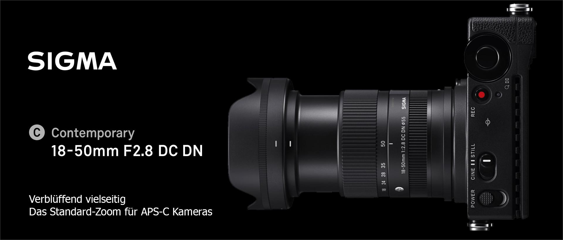 SIGMA 18-50mm F2,8 DC DN | Contemporary