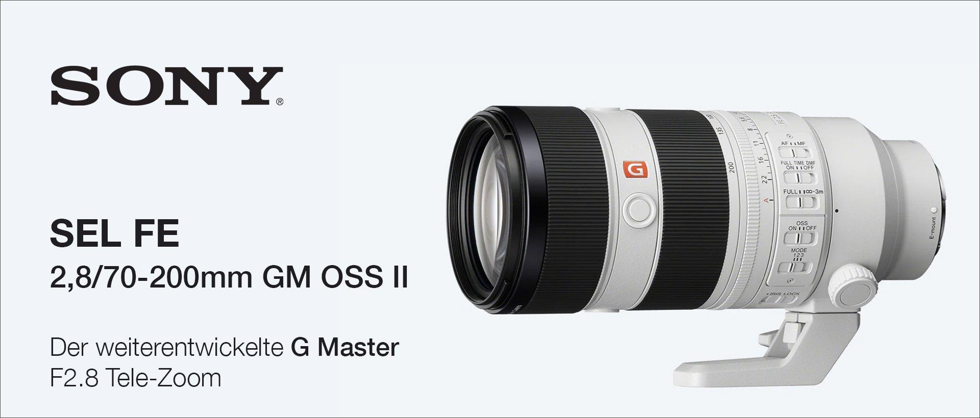Sony SEL FE 2,8/70-200mm GM OSS II