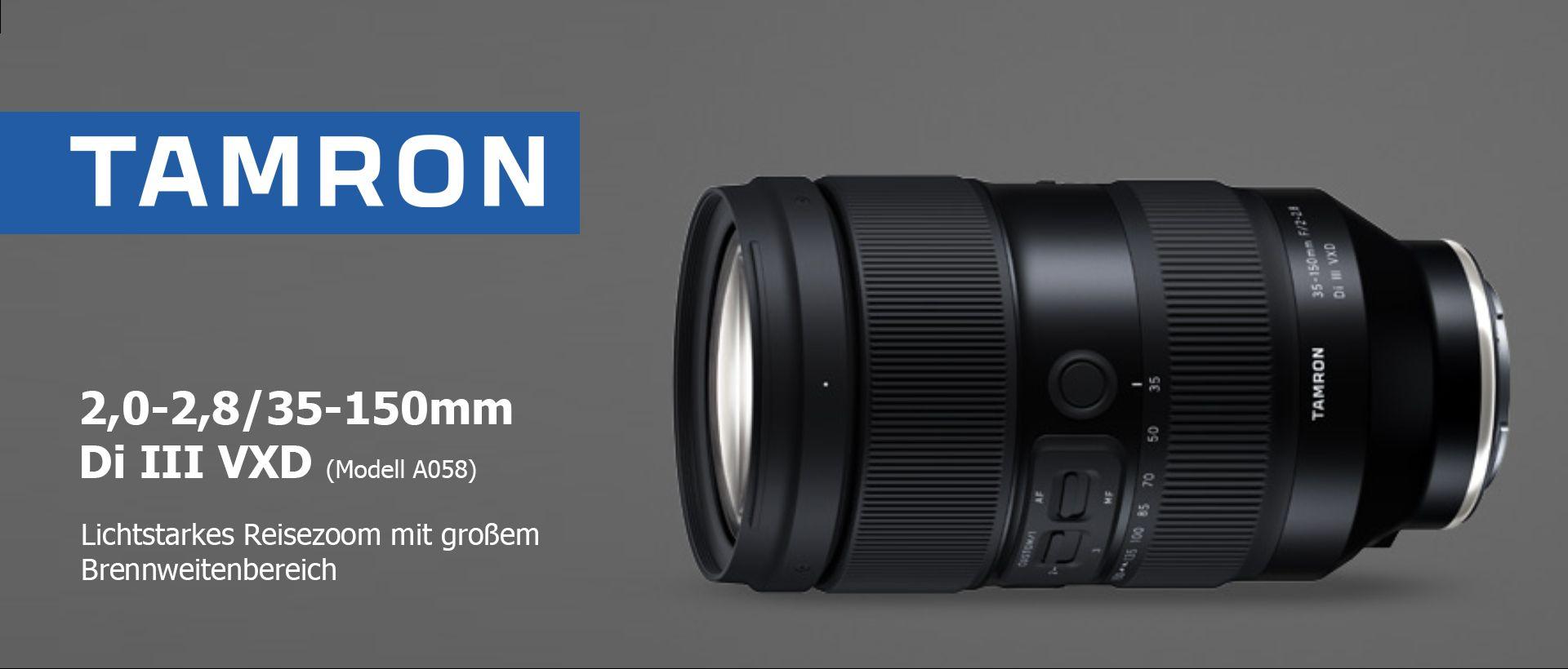Tamron 2,0-2,8/35-150mm Di III VXD (Modell A058)