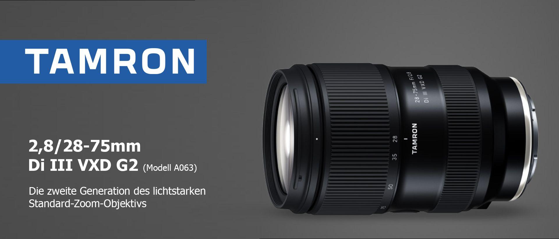 Tamron 2,8/28-75mm Di III VXD G2 (Modell A063)
